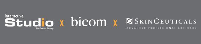 Une collaboration Interactive Studio x Bicom x Skinceuticals